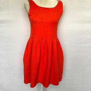 Anthropologie Deletta Torchon Ponte Dress Medium